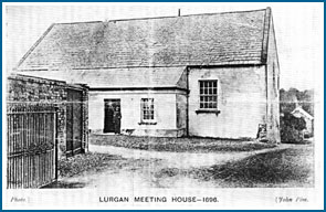 The first Quaker Meeting House